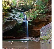 Lower Falls, Old Man's Cave, Hocking Hills State Park Photographic Print