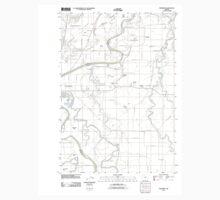 USGS Topo Map Oregon Riverside 20110831 TM One Piece - Short Sleeve