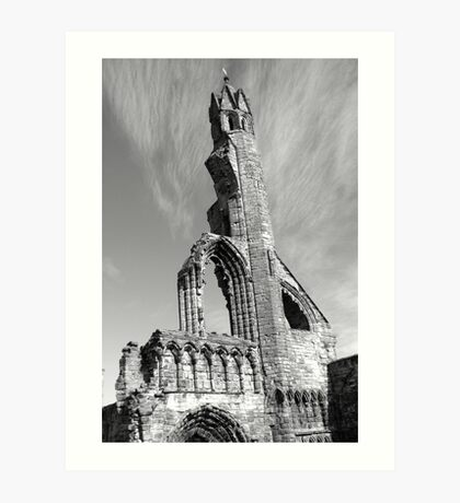 St Andrews Ruins Art Print