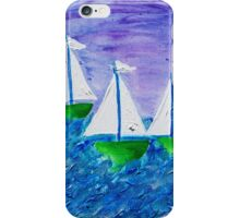 Three Yachts: iPhone Case iPhone Case/Skin