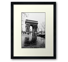 Arc de Triomphe, Paris, Circa 1984 Framed Print