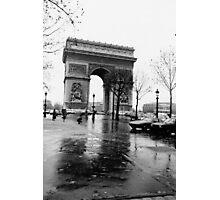 Arc de Triomphe, Paris, Circa 1984 Photographic Print