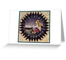 Cat and Shawl Greeting Card
