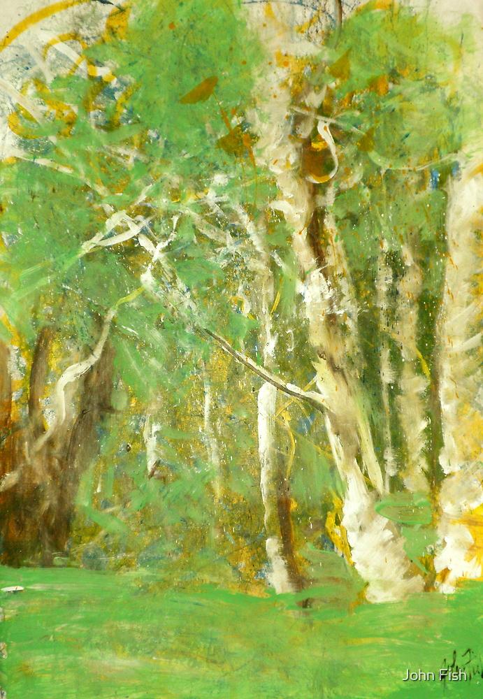 Tree Light by John Fish