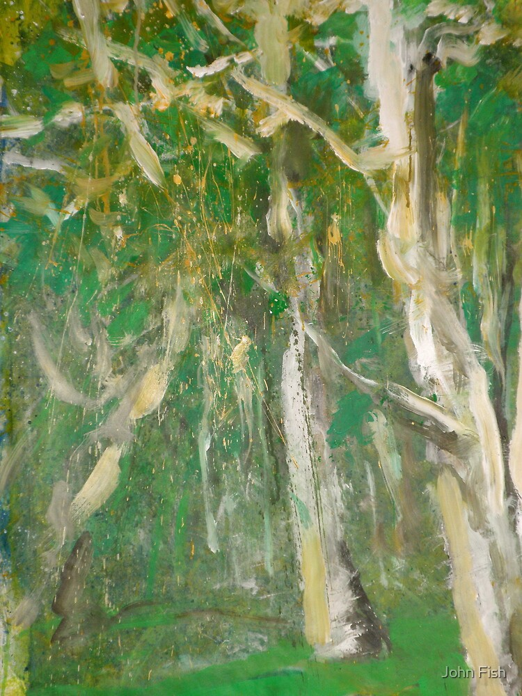 Dancing Trees by John Fish