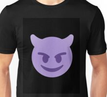 purple devil emoji Unisex T-Shirt