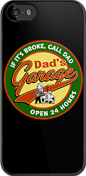 Dad's Garage by KlassicKarTeez
