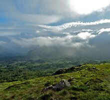 Caha Pass Storm by snefne