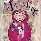 Mama babushka by Kelly Gatchell Hartley