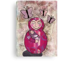 Mama babushka Canvas Print
