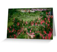 Homage to Monet Greeting Card