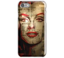 Red Marilyn iPhone Case/Skin
