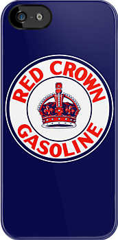 Red Crown Gasoline by KlassicKarTeez