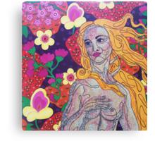 Venus goes Retro Canvas Print