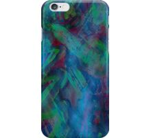 Green abstract iPhone case iPhone Case/Skin