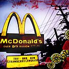 McDonald's Sign: Strawberry Lemonade by Artondra Hall