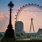 The London Eye by DonDavisUK