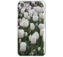 White IPhone Cover of Tulips iPhone Case/Skin