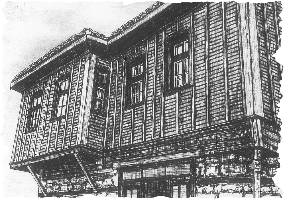 Old house by Georgi Kartalov