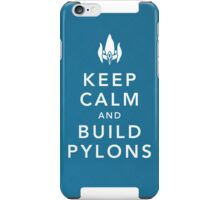 Keep Calm and Build Pylons! iPhone Case/Skin