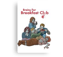 Brains For Breakfast Club Canvas Print