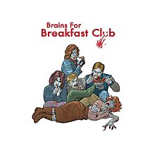 Brains For Breakfast Club Photographic Print