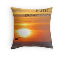 ~ FAITH ~ Throw Pillow