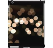 White Bokeh Blur iPad Case/Skin