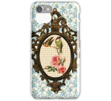 birds among the roses iPhone Case/Skin