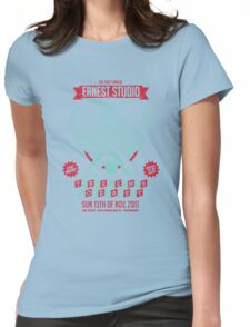 Ernest Studio - Table Tennis Comp Womens Fitted T-Shirt