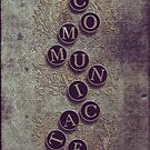 Communicate - iPhone case by Sybille Sterk