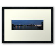 Broadway Bridge Framed Print