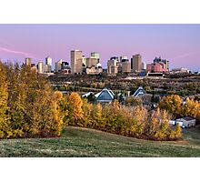 Edmonton Fall 1 Photographic Print