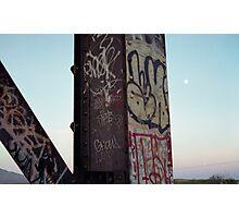 Trestle Moon Photographic Print