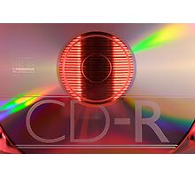 Compact disc Photographic Print