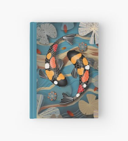 Koi Watergarden Hardcover Journal