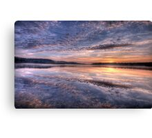 Pink Lace - Narrabeen Lakes, Sydney Australia - The HDR Experience Canvas Print