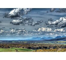 Distant Mountains Photographic Print