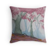 Where Faeries Play Throw Pillow