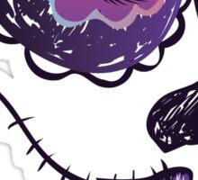 Day of Dead Girl Face 5 Sticker