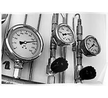 Pressure indicators Poster