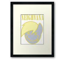Neighvana Filled (Derpy Hooves re-vector) Framed Print