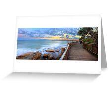 Boardwalk to Bullcock Beach Greeting Card