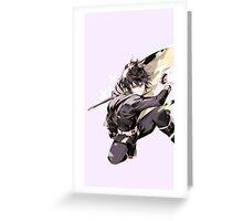 owari no seraph Greeting Card