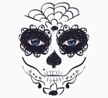 Day of Dead Girl Face 6 One Piece - Short Sleeve