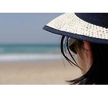 Looking at the horizon Photographic Print