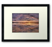 Pretty In Pink - Narrabeen Lakes, Sydney Australia - The HDR Experience Framed Print