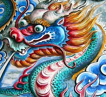 Blue Dragon by inspiredesign