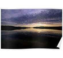 Earth, Sky & Water - Narrabeen Lakes, Sydney, Australia - The HDR Experience Poster