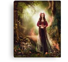 Annelise - In the Faerie Realm Canvas Print